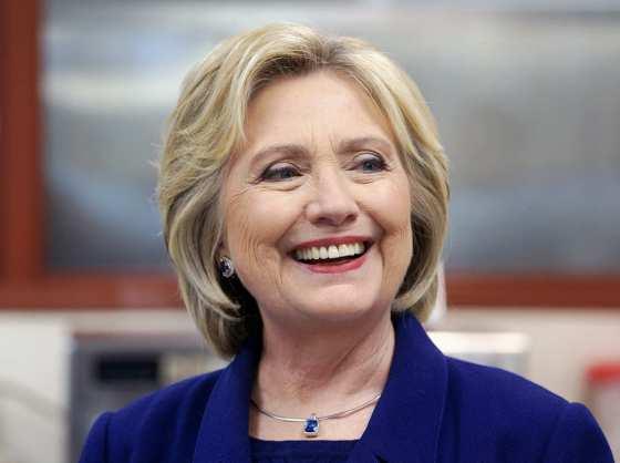 Hillary  Cinton delante en las encuentas